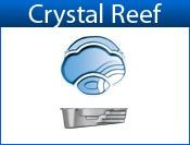 CRYSTAL REEF fiberglass pool