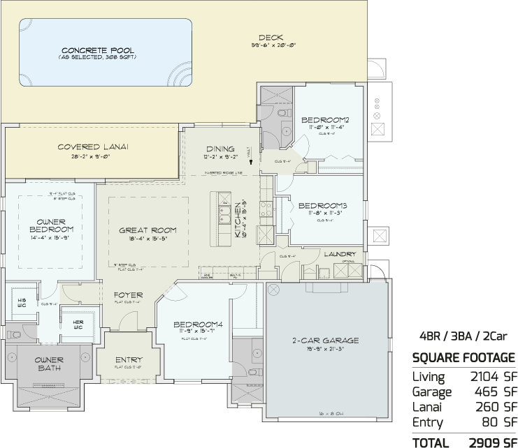 Stingray Floorplan